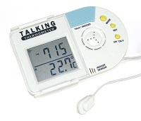 Picture of Talking inside/outside Thermometer