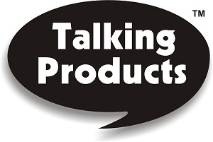 Talking Product Logo