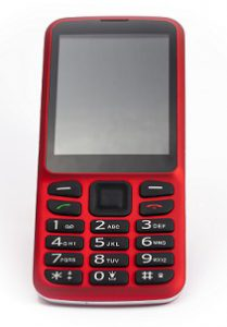 Picture of Blindshell mobile in Red
