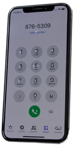 Picture of the Phone Layout
