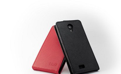 Picture of a Red/Black Blindshell Touch Flipcase